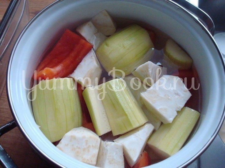 Ароматный овощной суп-пюре - шаг 2