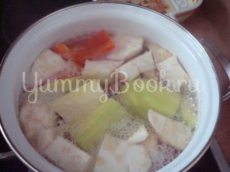 Ароматный овощной суп-пюре - шаг 4