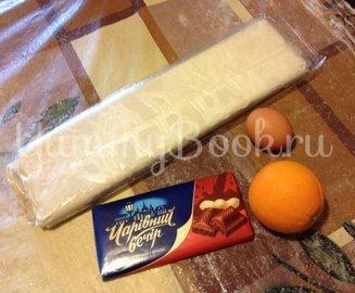 Круассаны с шоколадом и апельсиновой цедрой - шаг 1
