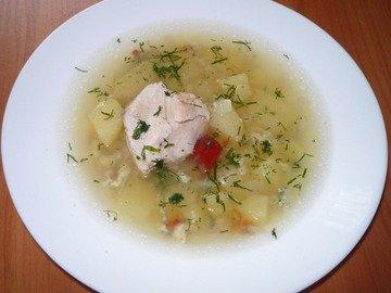 Куриный суп ВОЛНА из мультиварки