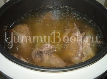 Куриный суп ВОЛНА из мультиварки - шаг 3