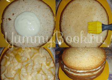 """Торт """"Виктория"""", пошаговый рецепт с фото"""