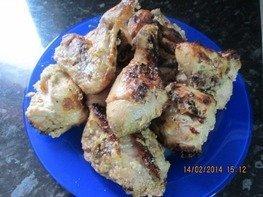 Курица  маринованная по-американски
