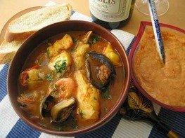 Буальбес (французский рыбный суп)