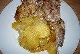 Кролик запеченный с картофелем