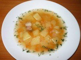 Гороховый суп с копченостями из мультиварки