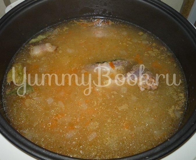 Гороховый суп с копченостями из мультиварки - шаг 5