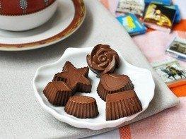 Конфеты шоколадно-желейные