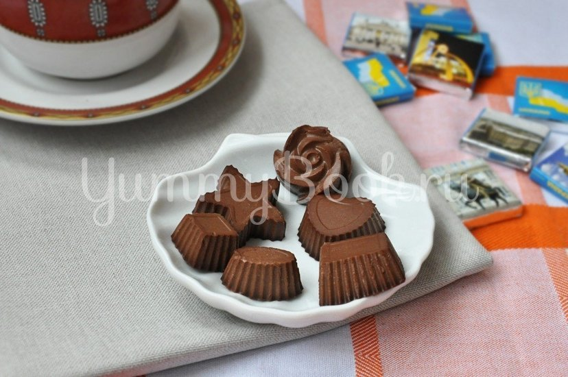Конфеты шоколадно-желейные - шаг 6