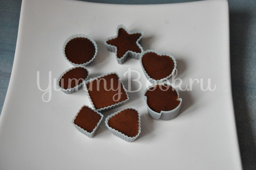 Конфеты шоколадно-желейные - шаг 5