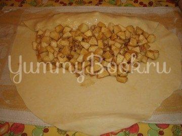 Яблочный штрудель с орехами - шаг 2