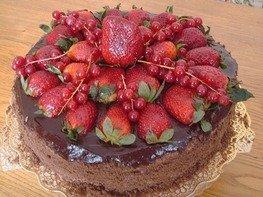 "Шоколадный торт ""Прага"""