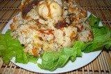 Свиные потроха с рисом (плов) из мультиварки