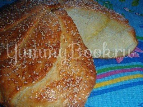 Cербский хлеб «Погачице» - шаг 9