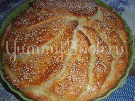 Cербский хлеб «Погачице» - шаг 8
