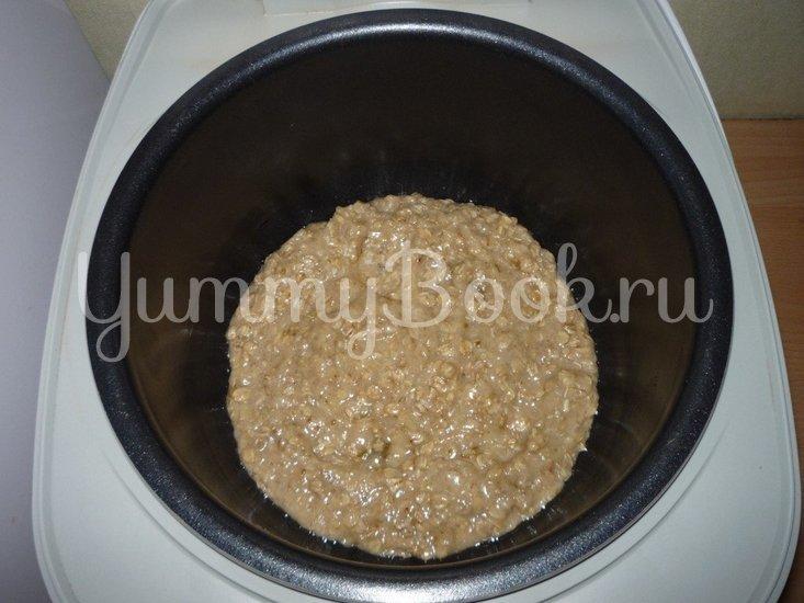 Постный овсяный пирог с грушами из мультиварки - шаг 5