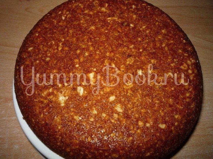 Постный овсяный пирог с грушами из мультиварки - шаг 7