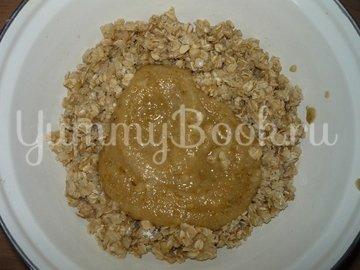 Постный овсяный пирог с грушами из мультиварки - шаг 4