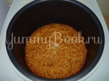 Постный овсяный пирог с грушами из мультиварки - шаг 6