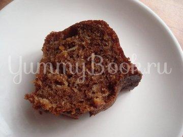 Шоколадный кекс с яблоком и изюмом - шаг 3