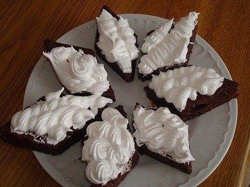 Кокосовые ромбики в шоколадной глазуре