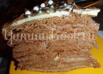 """Медовый торт """"Дамский каприз"""" - шаг 13"""