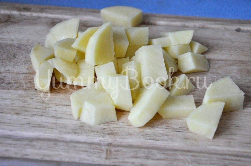 Картофель с грибами в горшочке - шаг 3