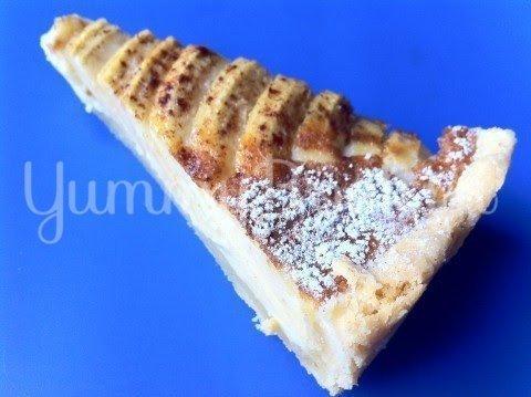 Яблочный пирог с пудингом и марципаном - шаг 11