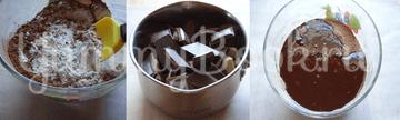 Брауни пивной с вишнями - шаг 1