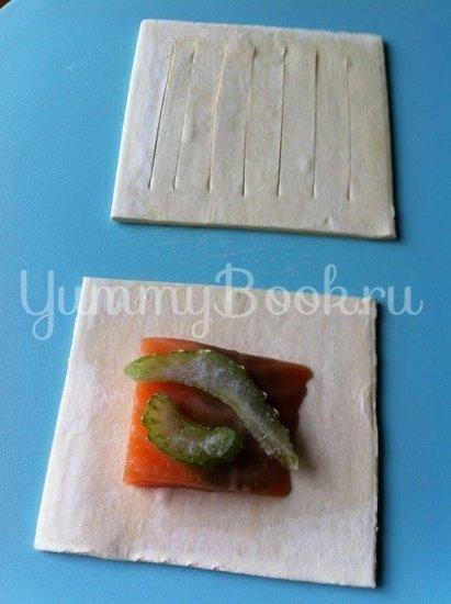 Рыба в слойке - шаг 4