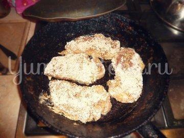 Праздничные зимние отбивные, пошаговый рецепт с фото