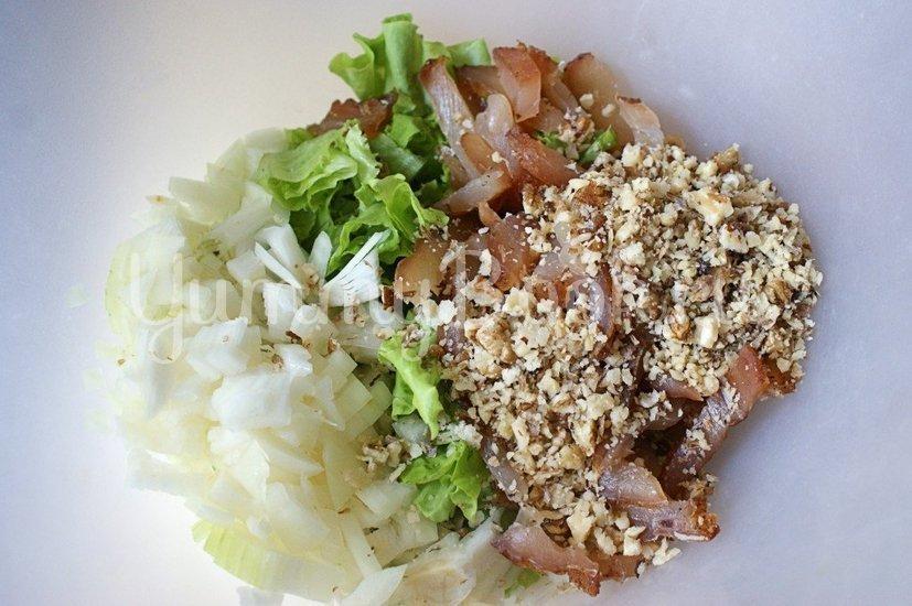 Салат с куриным карпаччо - шаг 4