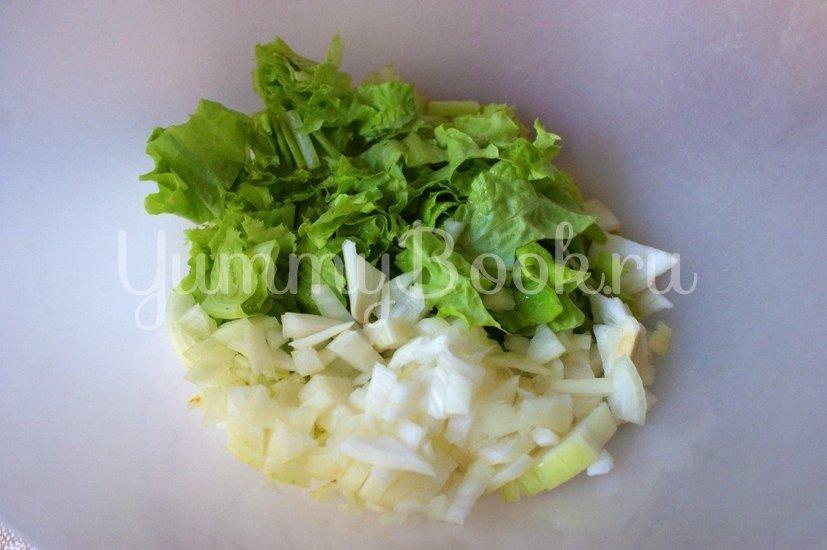 Салат с куриным карпаччо - шаг 2