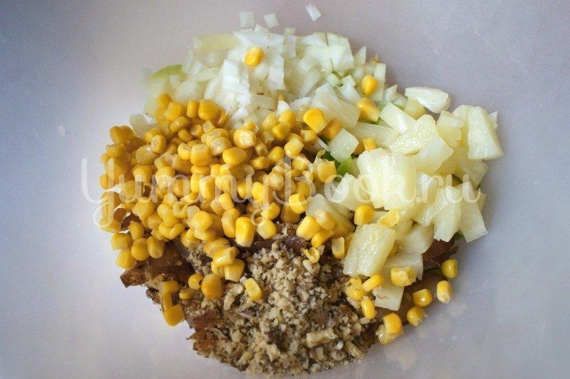 Салат с куриным карпаччо - шаг 5