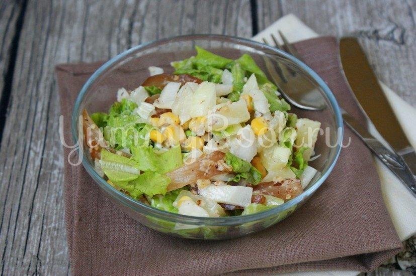 Салат с куриным карпаччо - шаг 7