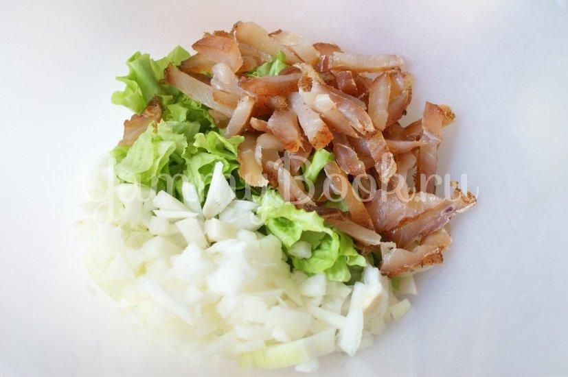 Салат с куриным карпаччо - шаг 3