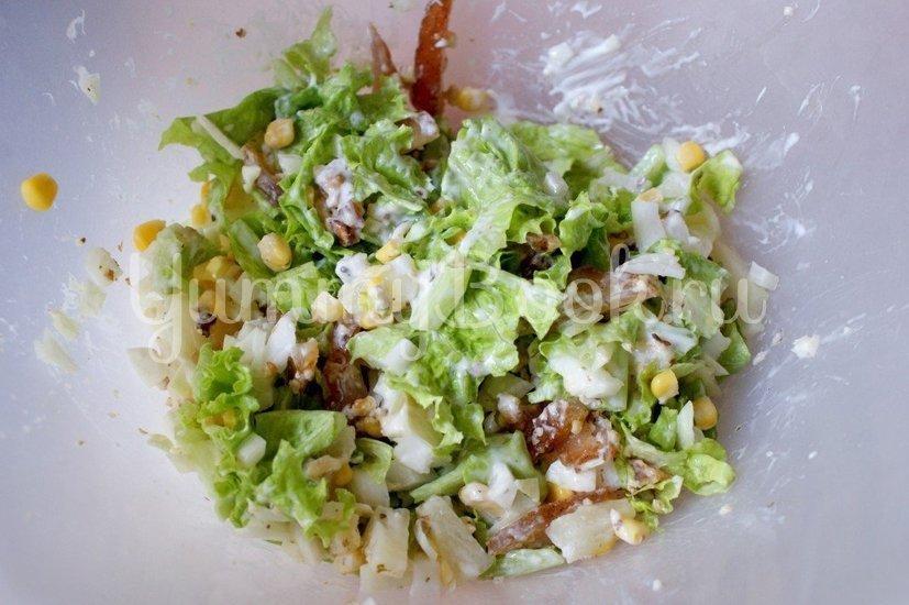 Салат с куриным карпаччо - шаг 6