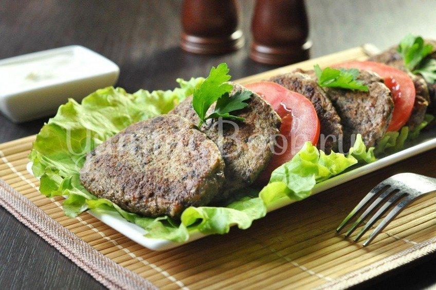 Печеночно-овощные оладьи
