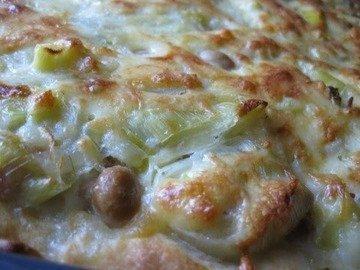 Пирог с луком-пореем, Lauchkuchen