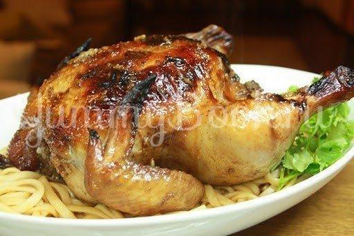 Курица  по-ливански