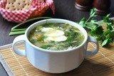 Зеленый суп с щавлем