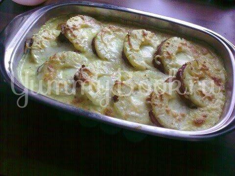 Копченое мясо с ананасом