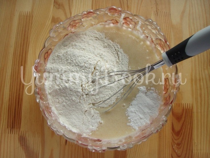 Шримати - индийский яблочный пирог - шаг 4