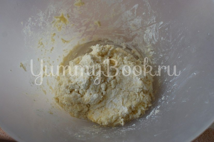 Сырно-творожные сырники - шаг 3