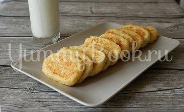Сырно-творожные сырники - шаг 7