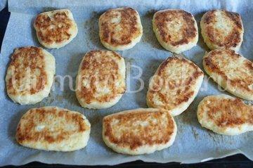Сырно-творожные сырники - шаг 6