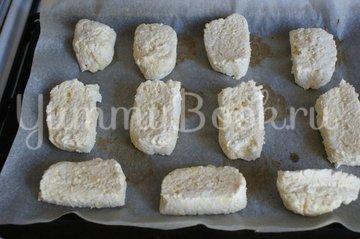 Сырно-творожные сырники - шаг 5
