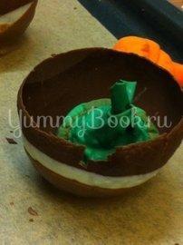 Шоколадные корзинки - шаг 8