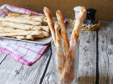 Гриссини, итальянские хлебные палочки