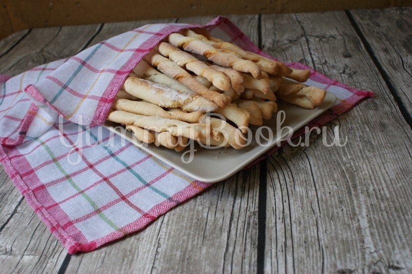 Гриссини, итальянские хлебные палочки - шаг 11